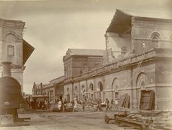 Workshops [Jamalpur] - East End after the Earthquake of 12th June 1897.